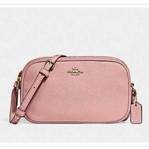 COACH CROSSBODY POUCH Soft Pink